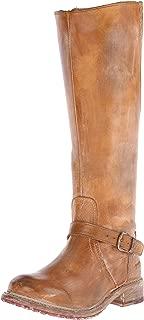 Women's Glaye Motorcycle Boot, Tan Rustic/White, 7.5 M US