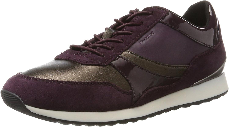 Geox D Deynna E, Women's Low-Top Sneakers