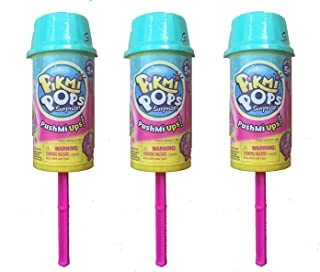 Moose Toys Pikmi Pops PushMi Ups Season 3 Icy Friends, Pack of 3