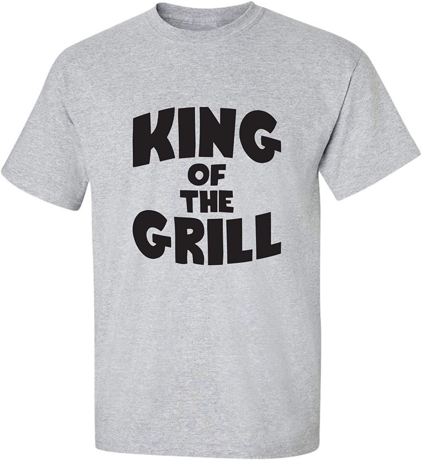 King of The Grill Adult Short Sleeve T-Shirt