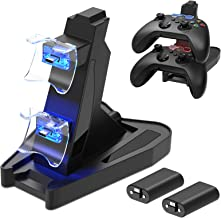 $26 » Dual Controller Charger Station for Xbox Series X/S, Charging Dock Bracket Stand for Xbox Serie S/X with 2X1400 mAh Rechar...