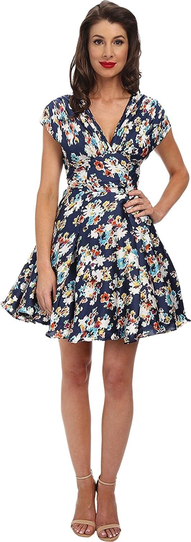 Unique Vintage Women's Sateen Olivia Dress