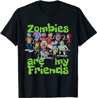 Original Zombies Are My Friends Halloween T-Shirt T-Shirt