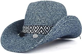 LiWen Zheng Summer Fashion Bohemian Tassel Women Hollow Western Cowboy Hat Lady Summer Straw SombreroCap Beach Cowgirl Jazz Sun Hat