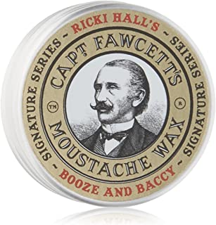 Captain Fawcett Ricki Hall's Moustache Wax, 0.5 Oz