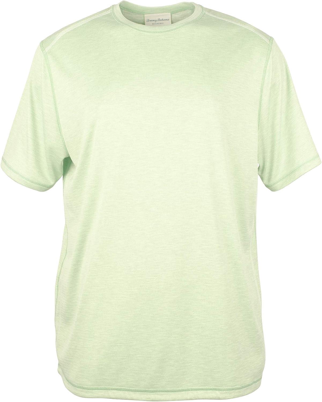 Tommy Fashionable Bahama Mens Flip Tide Short Marled Sleeve List price T-Shirt