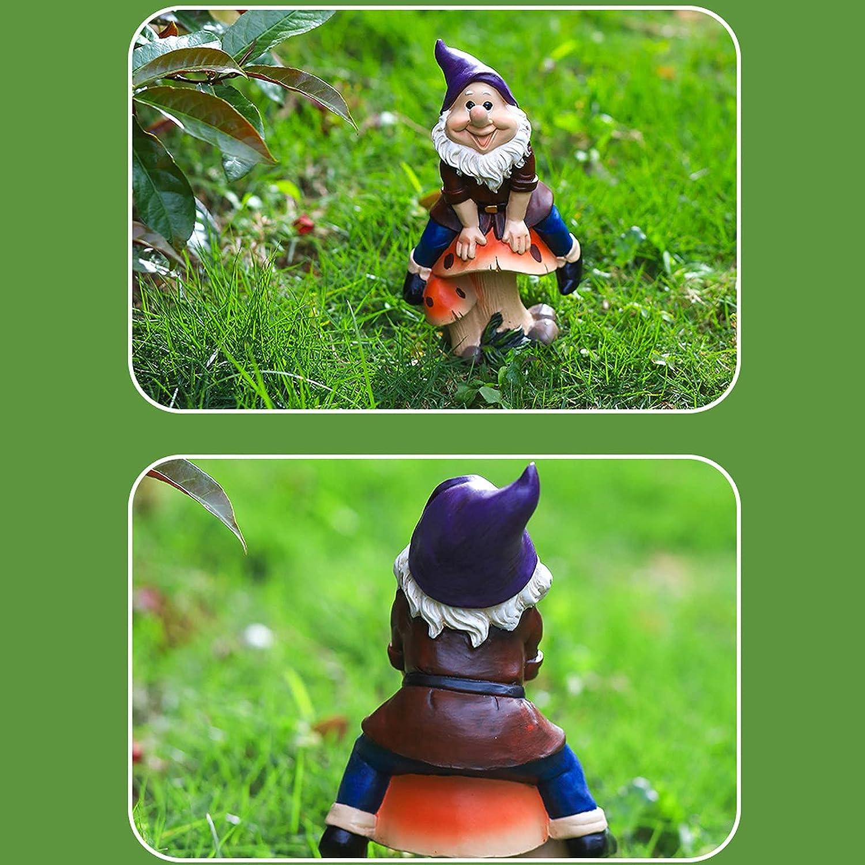 ANNASHOP Garden Gnome Ornament Creative Resin Cartoon Dwarf Sales Omaha Mall for sale Orn