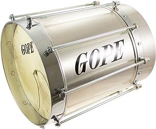 Percussions brasileñas gope cu0927coal-cr–Cuica cónico Alu 9Círculo cromo–27cm Profundidad Cuica