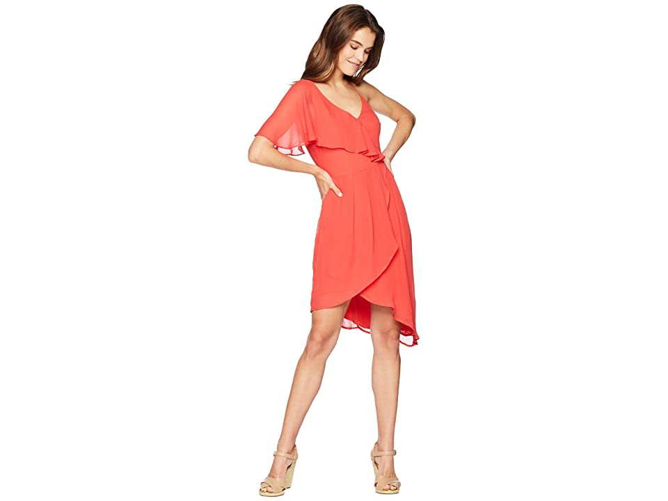Adelyn Rae Rita Dress (Spiced Coral) Women