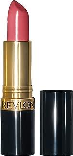 Revlon Super Lustrous Lipstick with Vitamin E and Avocado Oil, Cream Lipstick in Pink, 423 Pink Velvet, 0.15 oz