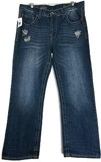 Axel Mens Relaxed Straight Denim Jeans, Stonington