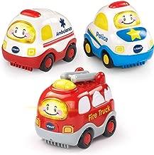 VTech Go! Go! Smart Wheels Emergency Vehicles 3-Pack
