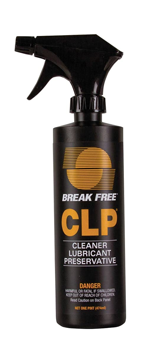 Break-Free 1009237  CLP-5 Cleaner Lubricant Preservative with Trigger Sprayer, 16 Oz