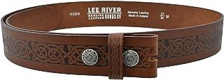 Men's Celtic Leather Belt Setanta (Buckle not Included)