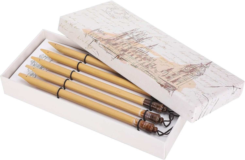 Boxed Dip Sacramento Mall Pen Bamboo Drawing Kit Home for Max 68% OFF Painting Nat