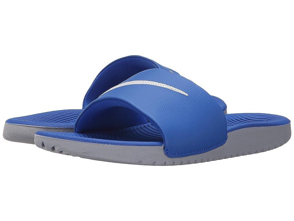 Nike Kids Kawa Slide (Little Kid/Big Kid) (Hyper Cobalt/White) Boys Shoes