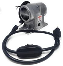 120V Vibrating Massage Motor for Bed, Table, or Chair (with Cord)