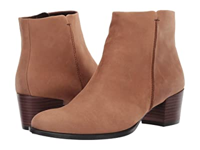 ECCO Shape 35 Stitch Boot (Camel Nubuck Leather) Women