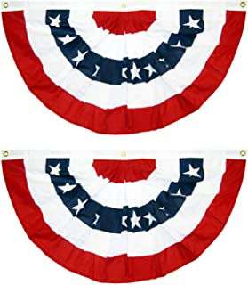 """Details about  /17/""""  American Flag Bunting Design Welcome Patriotic Sign Wall//Door Decoration"""