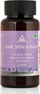 The Blessing Tree Biotin Hair, Skin & Nails with Complete Multivitamin, Minerals and Amino Acids - 60 Tablets
