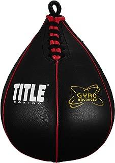 Gyro Balanced Speed Bags