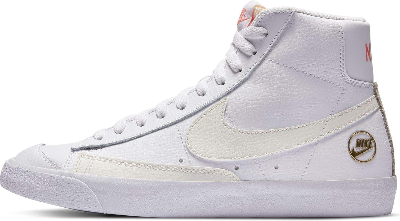 Nike Women Blazer Mid Vintage 77 Blanc Dc1421-100 : Amazon.fr ...