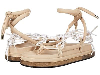 ALOHAS Jungle Laced-Up Sandal
