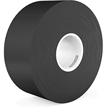 LLPT Gaffer Tape 2.36 Inches x 108 Feet Premium Grade Residue Free Removable Strong None Reflective Adhesive Color Black(GT230)