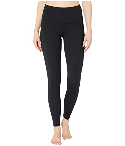 Jockey Active High-Waisted Leggings (Deep Black) Women