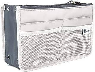 Periea Handbag Organiser - Chelsy - 28 Colours Available - Small, Medium Large (Medium, White)