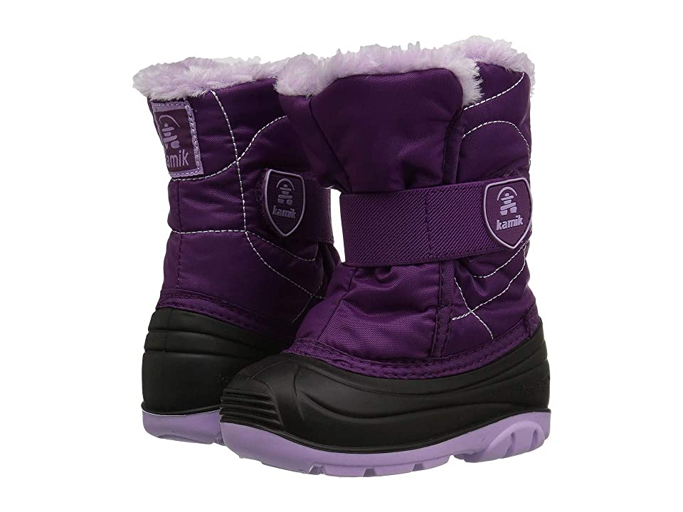 Kamik Kids Snowbugf (Toddler) (Grape) Girl