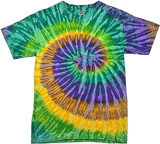 100% Cotton Colorful Tie Dye Vibrant Shirt