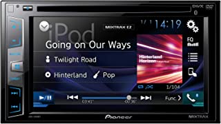 Pioneer AVH-X395BT Double-Din DVD Multimedia AV Receiver with 6.2 Inch Wvga Touchscreen Display, MIXTRAX, Built-in Bluetoo...