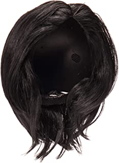 Rubie's Adult Michael Jackson Long Straight Wig with Glass