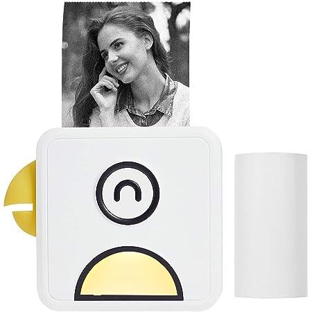 Aibecy Poooli L1 Mini Fotodrucker 200dpi Thermodrucker Bt Wireless Receipt Label Sticker Maker Für Arbeitsplan Memo Study Notes Listen Journaldruck Kompatibel Mit Android Ios Smartphone Bürobedarf Schreibwaren