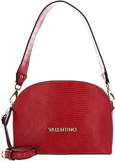 حقيبة كينسيجتون بحزام فردي من ماريو فالنتينو باللون الاحمر
