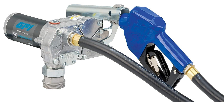 GPI M-1115 Fuel Transfer Branded goods Pump GPM Automatic mart 115V-AC 12 Shut-O