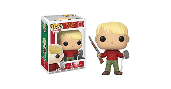 #491 // 21778 - B Funko Kevin McCallister: Home Alone x POP BCC9404811 Movies Vinyl Figure /& 1 PET Plastic Graphical Protector Bundle