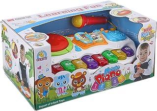 لعبة بيانو بموسيقى واضواء للاطفال من فايف ستار تويز 35338