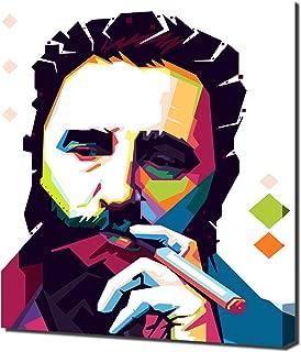 Fidel Castro 6 - Pop Art - Modern Art - Wall Picture - Canvas Print