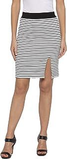 Globus White Striped Skirts