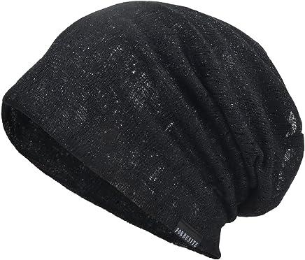 Men Slouch Hollow Beanie Thin Summer Cap Skullcap B083