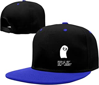 Baseball cap hip hop hat Undertale Napstablook sorry-01 cap (5 colors)