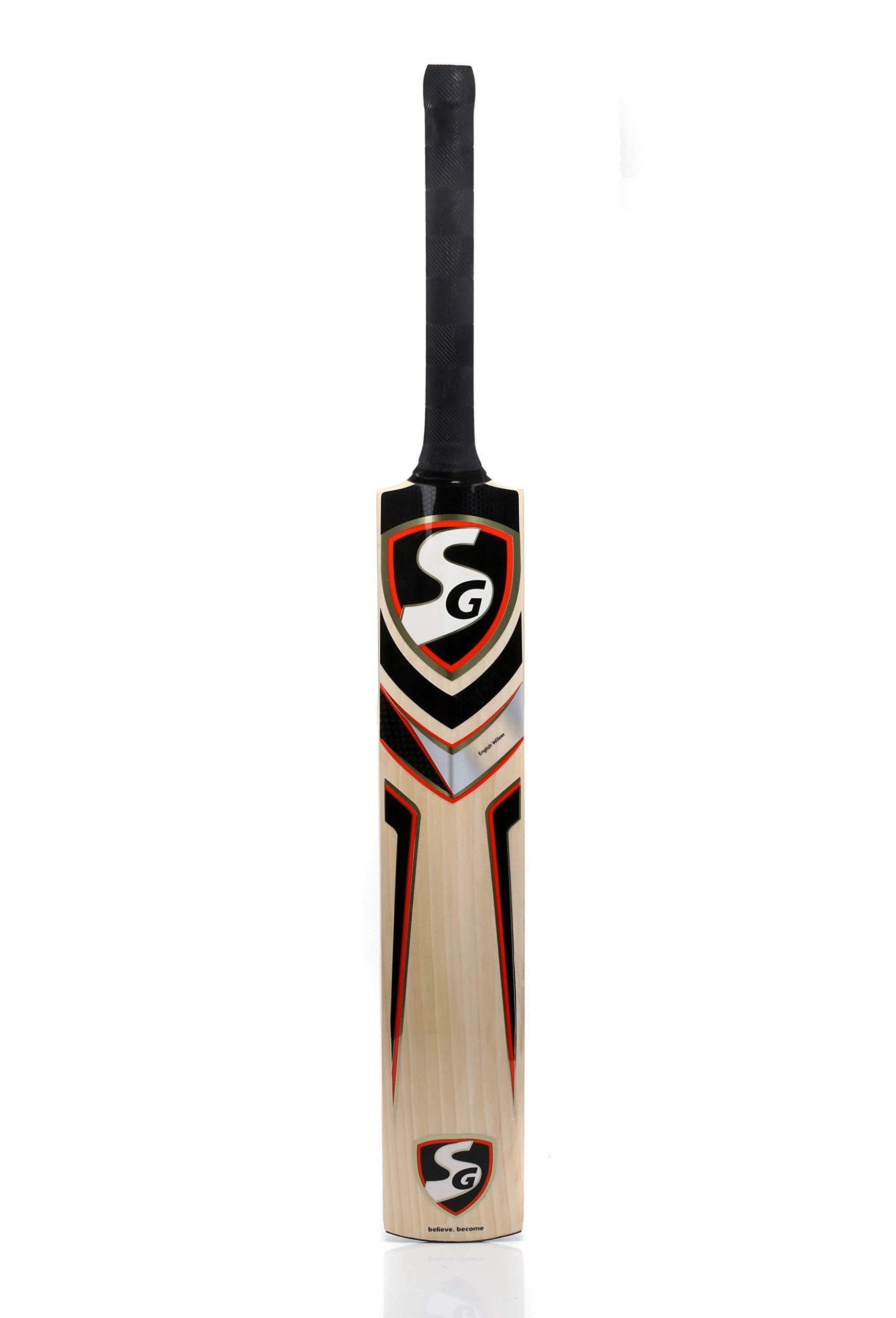 Whitedot sports SG Cobra Gold Kashmir Willow Cricket Bat Size 5