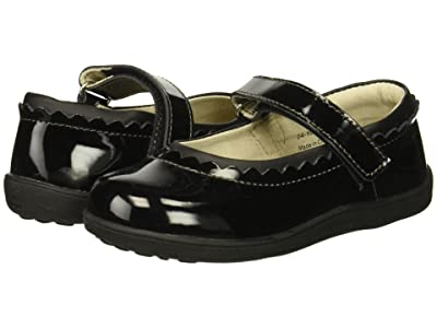 See Kai Run Kids Jane II (Toddler/Little Kid) (Black Patent) Girl
