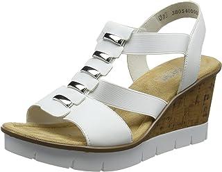 88d291549b2e4 Amazon.co.uk: Rieker - Sandals / Women's Shoes: Shoes & Bags