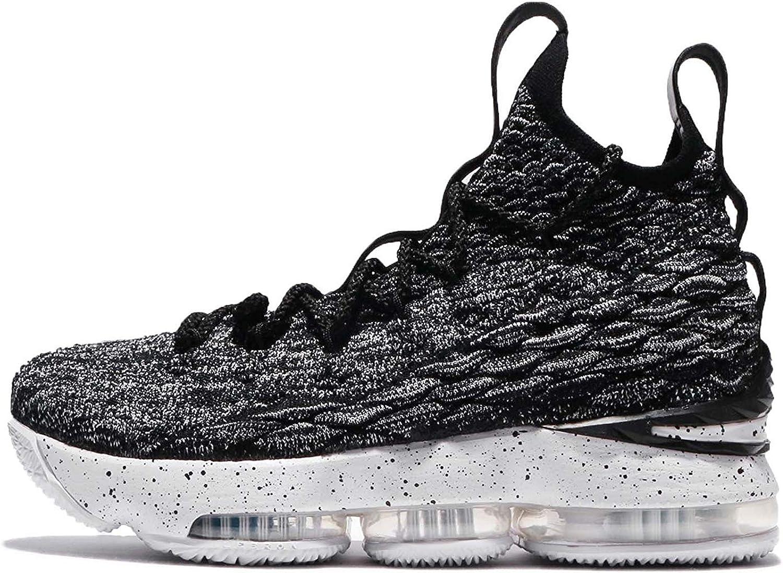 Nike Kid's Lebron XV GS, schwarz Weiß-Weiß, Youth Größe 5 B077GQ24V3  Explosive Ware