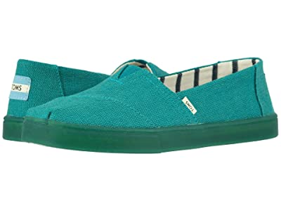 TOMS Alpargata Cupsole (Green Lake Heritage Canvas Cupsole) Women