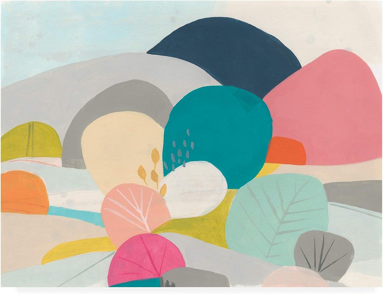 Trademark Fine Art Meadow Whimsy II by June Erica Vess, 14x19