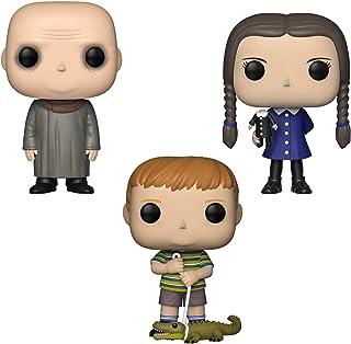 Funko TV: Pop! The Addams Family Collectors Set 2 – Uncle Fester, Miércoles, Pugsley